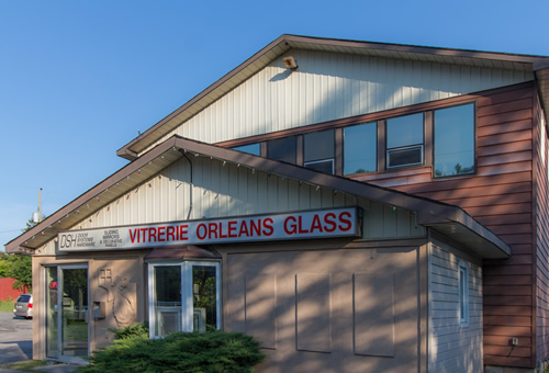 Orleans Glass Building Outside